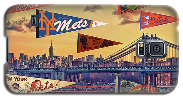 Vintage New York Mets Galaxy S5 Case by Steven Parker
