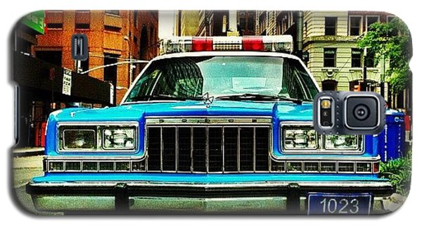 Summer Galaxy S5 Case - Vintage Nypd. #car #nypd #nyc by Luke Kingma