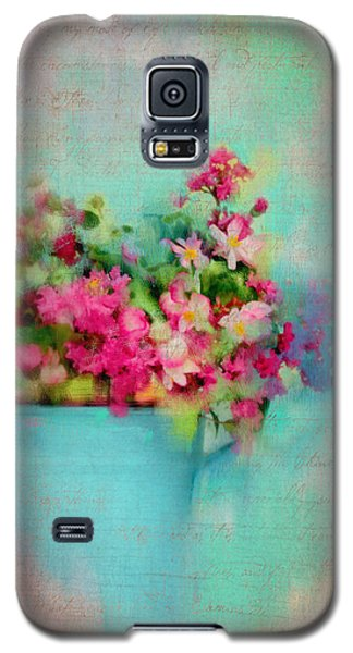 Flowers From A Cottage Garden Galaxy S5 Case