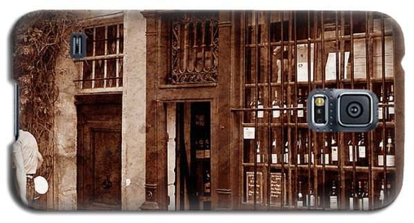 Vintage Paris 3 Galaxy S5 Case