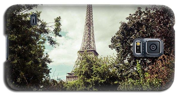 Vintage Paris Landscape Galaxy S5 Case