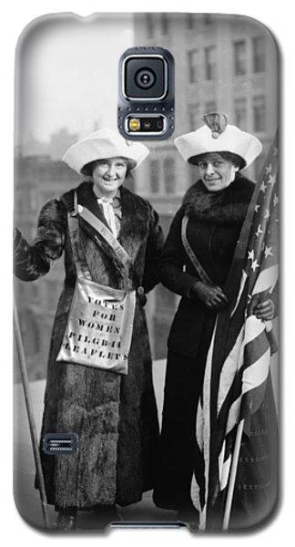 Vintage Photo Suffragettes Galaxy S5 Case