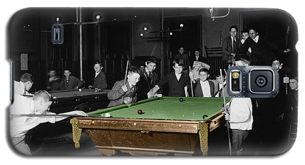 Vintage Pool Hall Galaxy S5 Case by Andrew Fare
