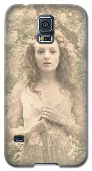 Vintage Portrait Galaxy S5 Case