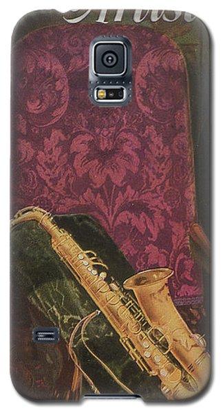 Vintage Poster Galaxy S5 Case