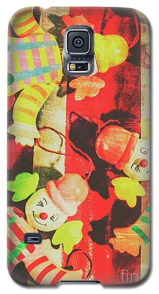Galaxy S5 Case featuring the photograph Vintage Pull String Puppets by Jorgo Photography - Wall Art Gallery