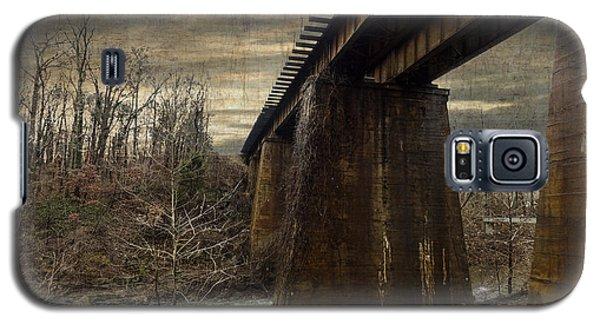 Vintage Railroad Trestle Galaxy S5 Case by Melissa Messick