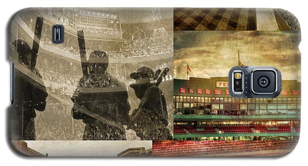 Vintage Red Sox Fenway Park Baseball Collage Galaxy S5 Case
