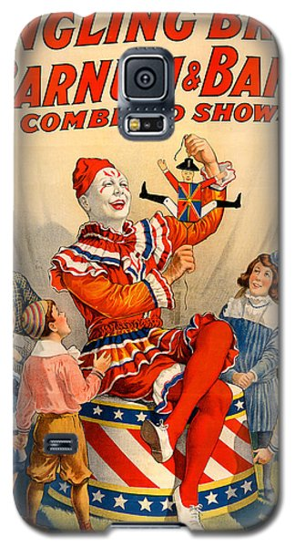 Vintage Ringling Brothers And Barnum And Bailey Combined Circus Galaxy S5 Case