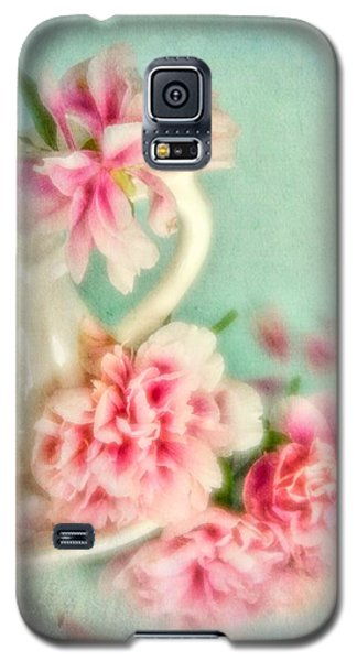 Vintage Romantic Peonies Galaxy S5 Case