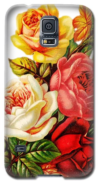 Vintage Rose I Galaxy S5 Case