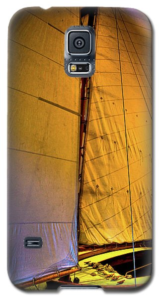 Galaxy S5 Case featuring the photograph Vintage Sailboat by David Patterson