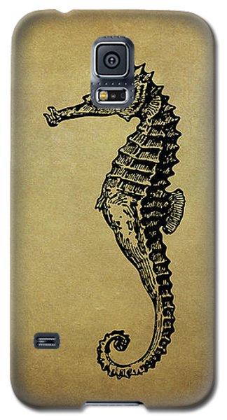 Vintage Seahorse Illustration Galaxy S5 Case