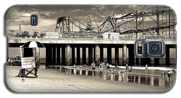 Vintage Steel Pier Galaxy S5 Case