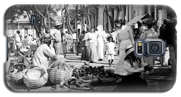 Vintage Street Scene In Ponce - Puerto Rico - C 1899 Galaxy S5 Case