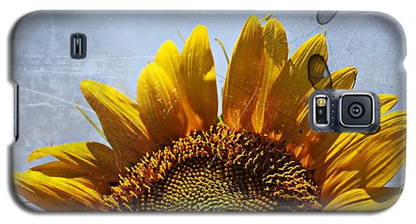 Vintage Sunflower- Fine Art Galaxy S5 Case