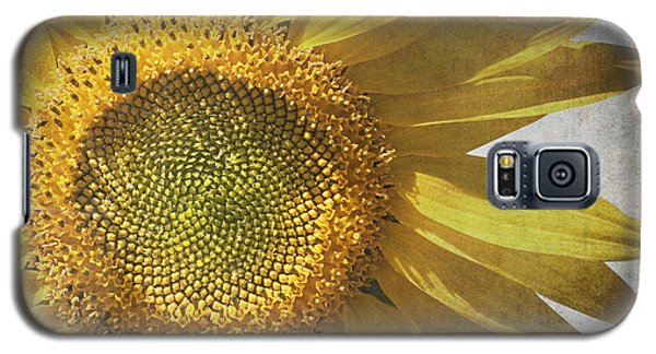 Vintage Sunflower Galaxy S5 Case by Jane Rix