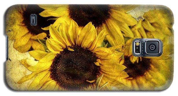 Vintage Sunflowers Galaxy S5 Case