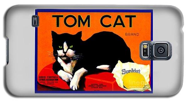 Vintage Sunkist Tom Cat Galaxy S5 Case