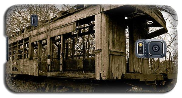 Vintage Train Galaxy S5 Case