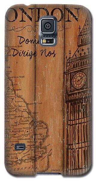 Vintage Travel London Galaxy S5 Case by Debbie DeWitt