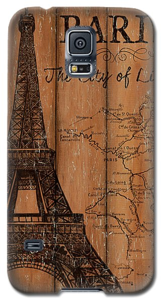 Vintage Travel Paris Galaxy S5 Case