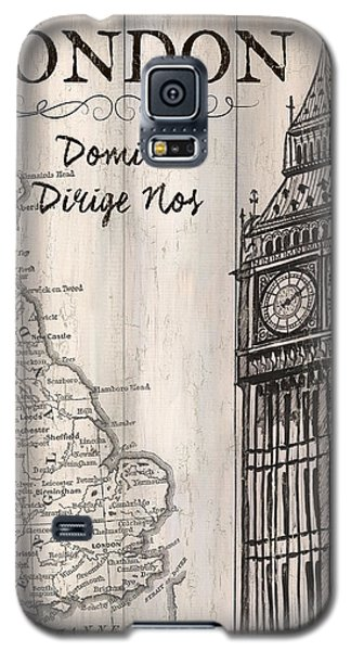 Vintage Travel Poster London Galaxy S5 Case
