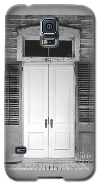 Galaxy S5 Case featuring the photograph Vintage Tropical Weathered Key West Florida Doorway by John Stephens
