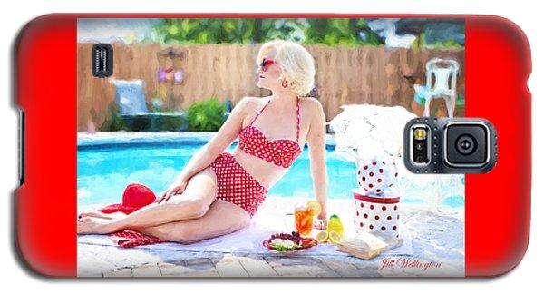 Vintage Val Poolside Galaxy S5 Case