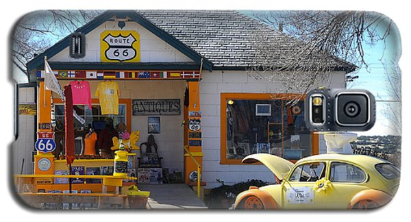 Vintage Vw Beetle At Seligman Antiques, Historic Route 66 Galaxy S5 Case