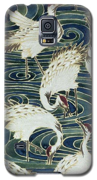 Vintage Wallpaper Design Galaxy S5 Case by English School