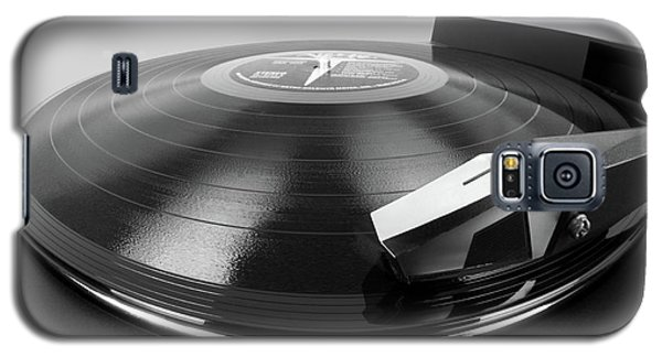 Vinyl Lp And Turntable Galaxy S5 Case