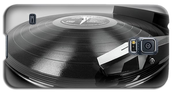 Vinyl Lp And Turntable Galaxy S5 Case by Jim Hughes