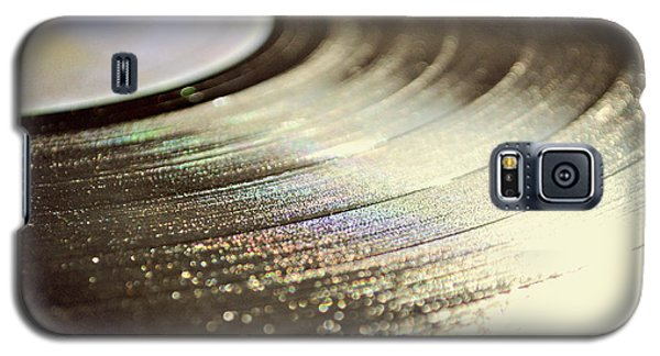Galaxy S5 Case featuring the photograph Vinyl Record by Lyn Randle
