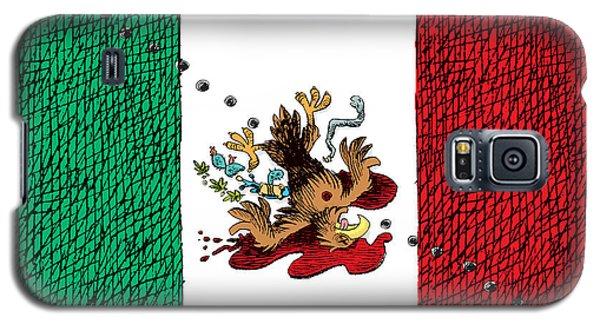 Violence In Mexico Galaxy S5 Case