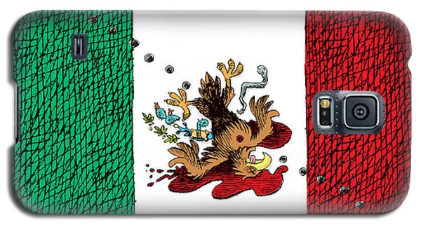 Violence In Mexico Galaxy S5 Case
