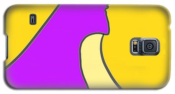Violet Blonde Galaxy S5 Case