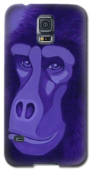 Violet Gorilla Galaxy S5 Case
