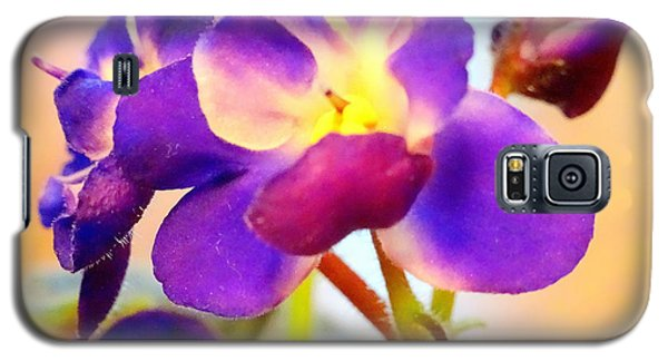 Violet In Bloom Galaxy S5 Case