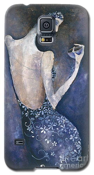 Violet Inspiration Galaxy S5 Case by Maya Manolova