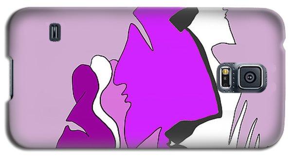 Violet Galaxy S5 Case