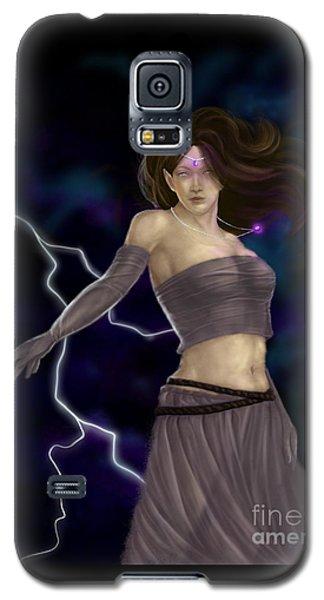 Violet Magic Galaxy S5 Case