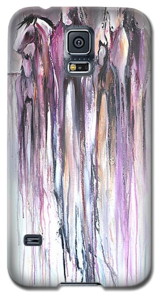 Violet Mirage 2 Galaxy S5 Case by Cher Devereaux