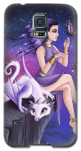 Violet Night Fantasy Galaxy S5 Case