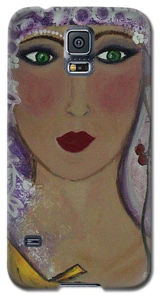 Violet Queen Galaxy S5 Case