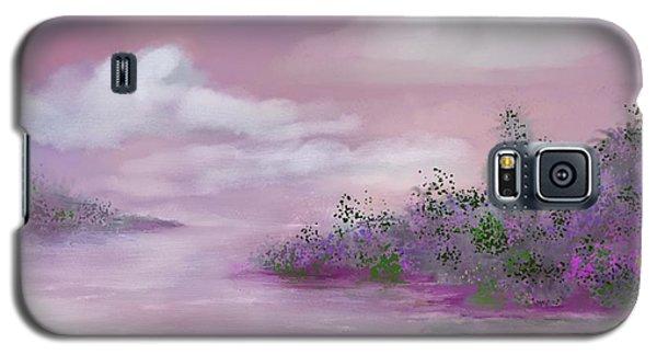 Violet Sunset Galaxy S5 Case by Judy Filarecki