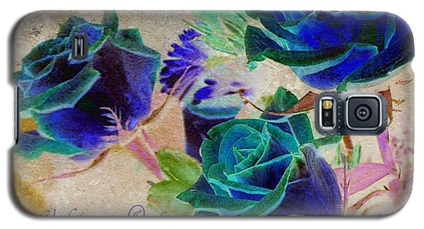 Violets Are Red- Roses Are Blue Galaxy S5 Case