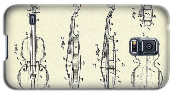 Violin Galaxy S5 Case - Violin-1921 by Pablo Romero