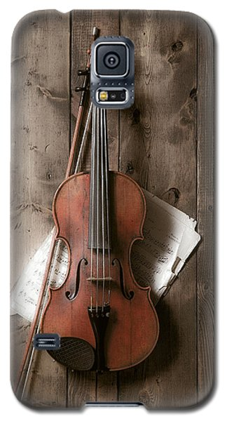 Violin Galaxy S5 Case - Violin by Garry Gay