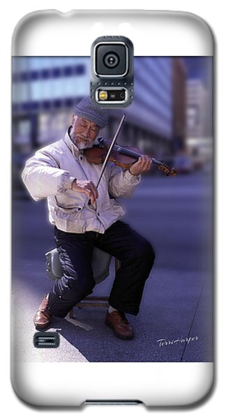 Violin Guy Galaxy S5 Case